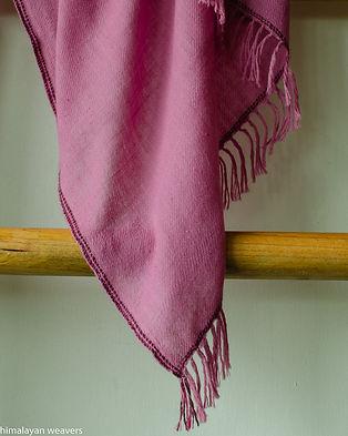 shawl for women natural dye sappanwood.j