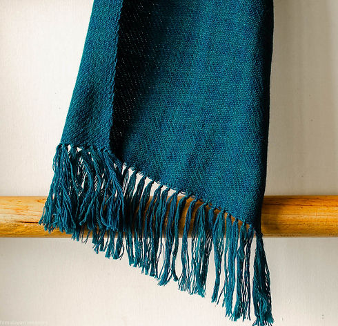 scarf for women dyed with indigo.jpg