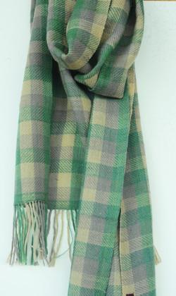 Woollen scarf made in Mussoorie.
