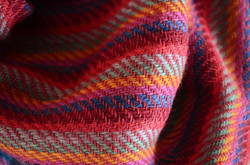 handmade scarf from Mussorie
