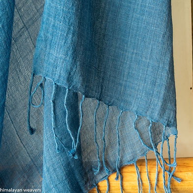 cotton stole for women with natural dye