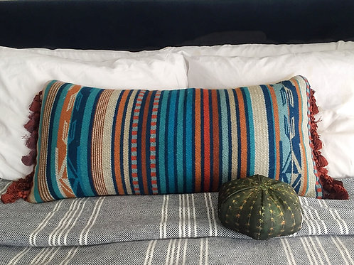 Tribal Stripe Small Lumbar Pillow