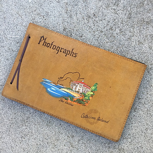 Vintage Catalina Photo Book