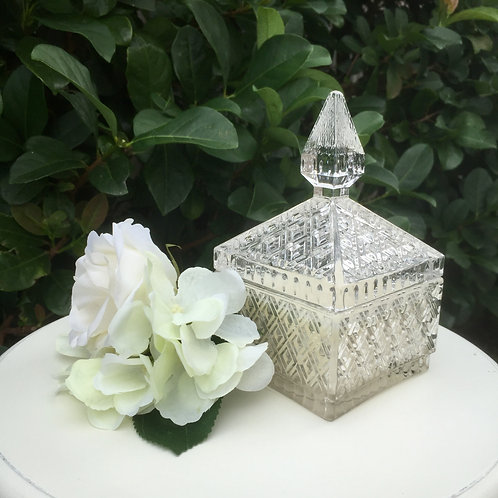 Crystal Jewellery Box