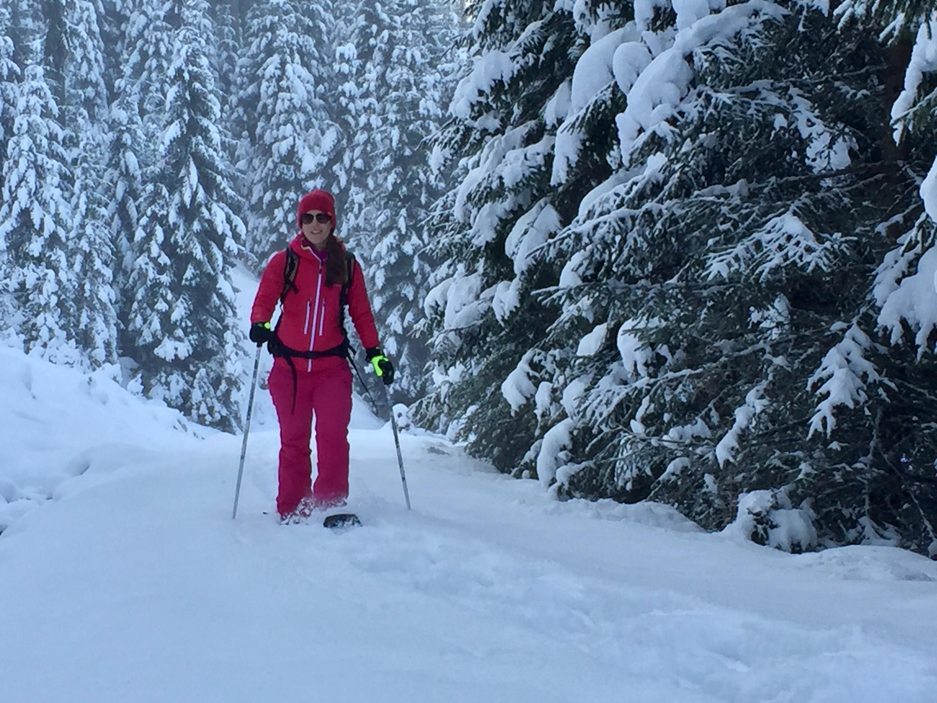 Schneeschuh Tour