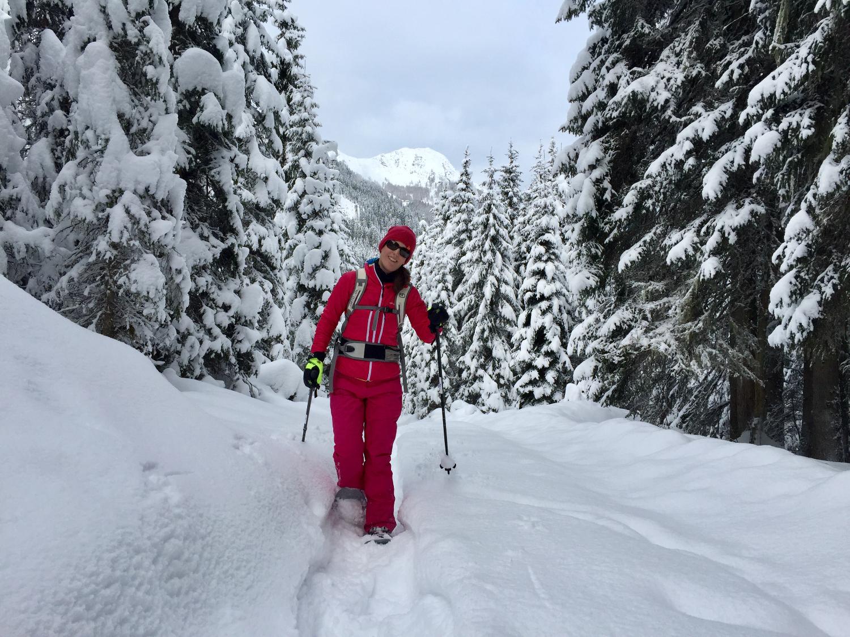 Schneeschuh Wandern Salzburger Land