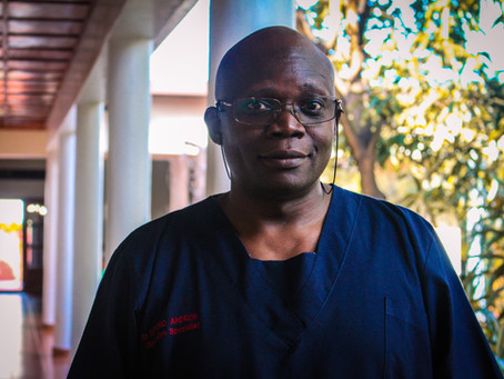Accountability & Attention to Results: Dr. Andrew Oryono, OBGYN at Rwinkwavu District Hospital