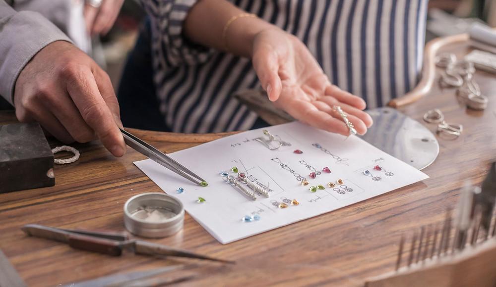 diseño de joyas inspiradas en la naturaleza - PatricioMinconi