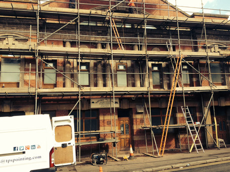 TPS Pointing  Brick Repointing & Stone Cleaning  Grade 2 Listed Building.