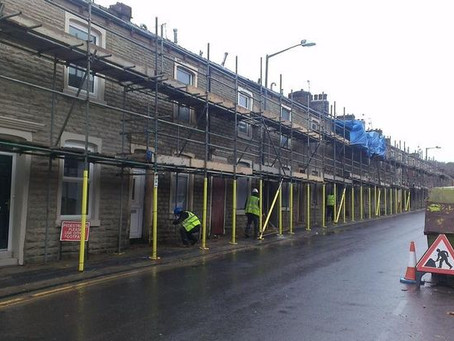 TPS Pointing Carrying out Facelift work in Accrington