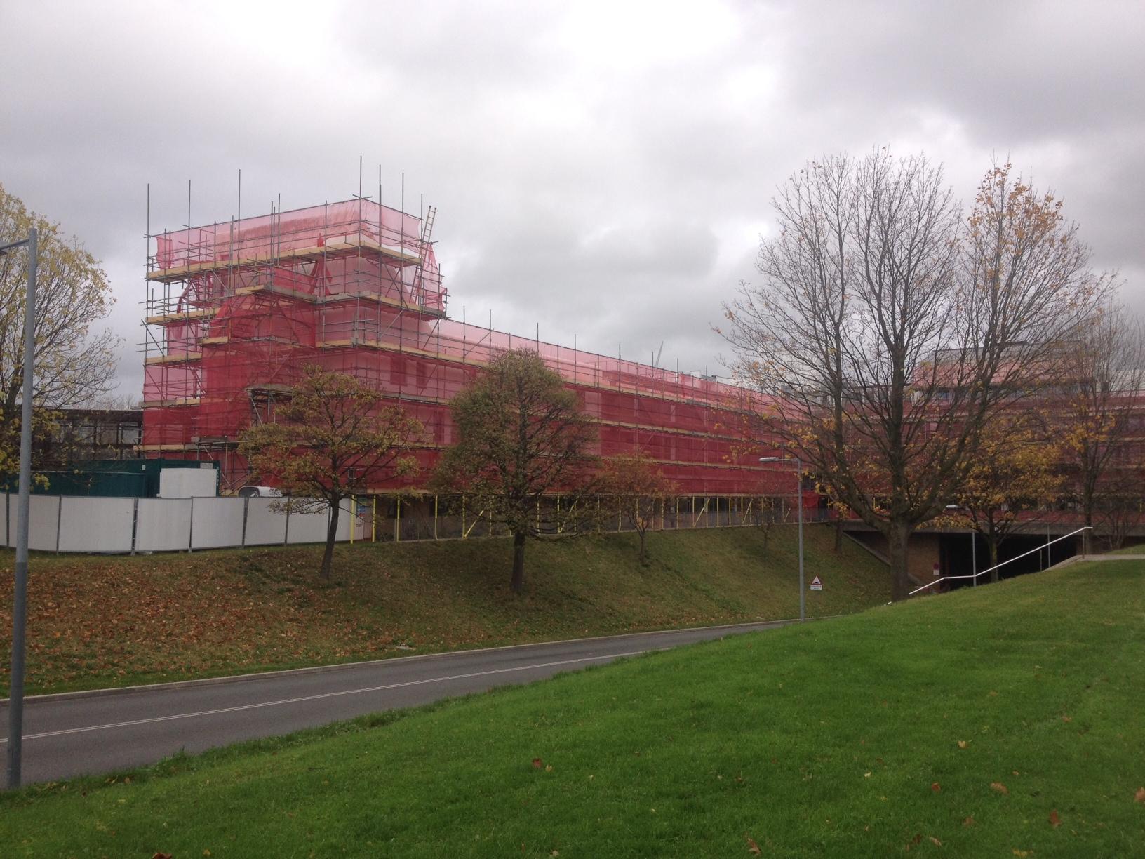 Lancaster University Lime Pointing