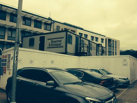 "TPS Pointing @ Bowmer & Kirkland Site ""University of Warwick - Coventry"""