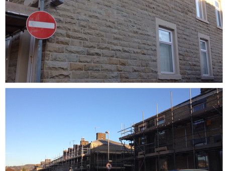 Phase 2                                                    Wet Blasting & Repointing of 3oo Hous