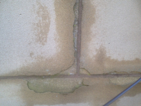 This is what happens to Sandstone when the Pointing Company before you has not got a clue what mix t