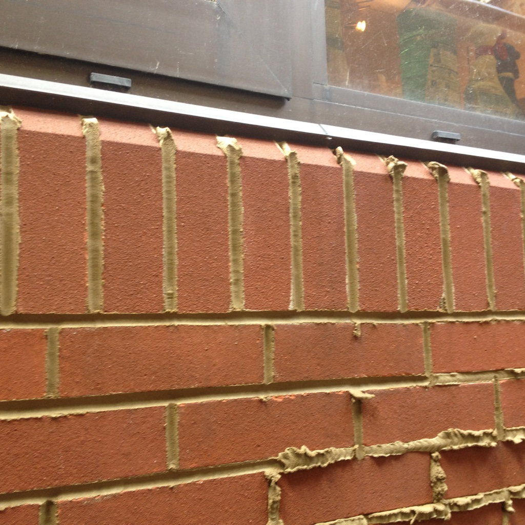 Brickwork repointing