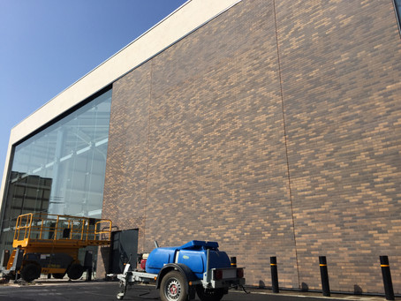 New Next @ County Oaks Retail Park London. Corium injection pointing using Parex mortar. www.tpspoin