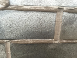 corium pointing with parex mortar