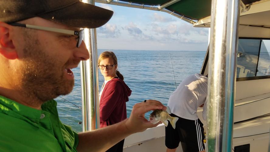 Catching Perch can be fun!