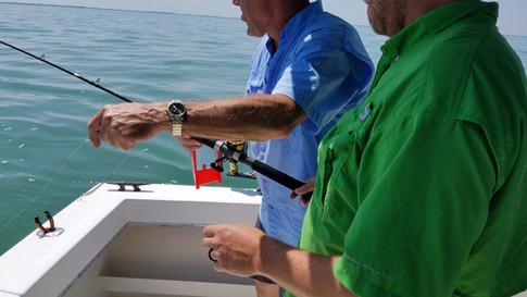 Captain Jim Helping