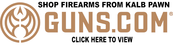 SHOP FIREARMS FROM KALB PAWN