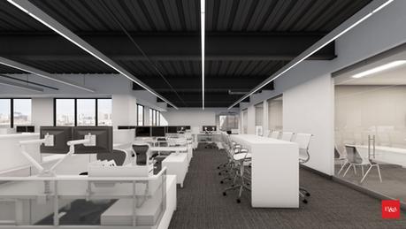 Multiple Office Suites - Howard Hughes Office Building