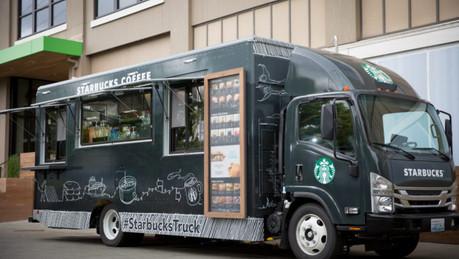 Starbucks Truck - The Park