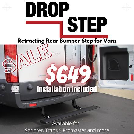 Drop step install $649