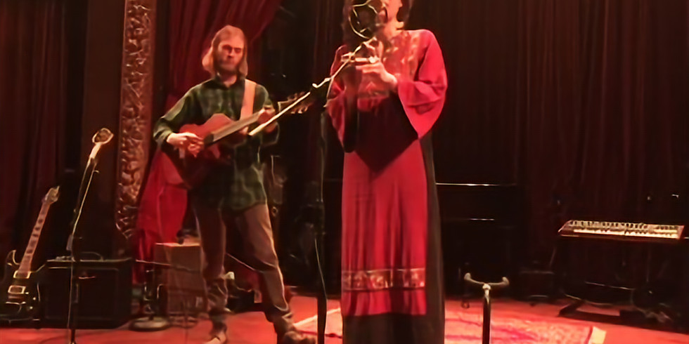 Live music from Heather Wolf & Nicholas Moon