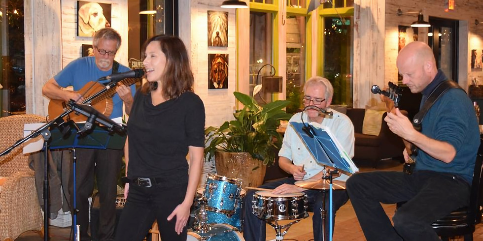 Live music with The Cuban Heels