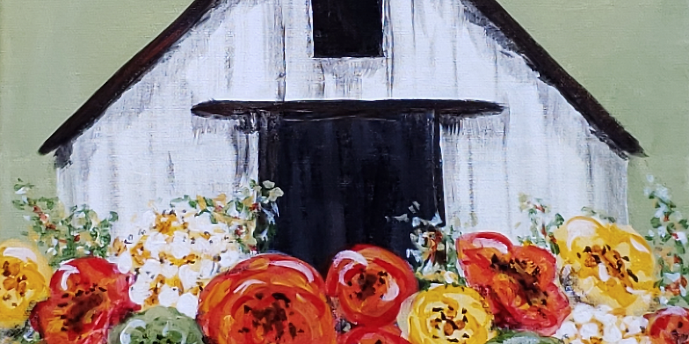 SOLD OUT: Sip & Paint a Spring Barn