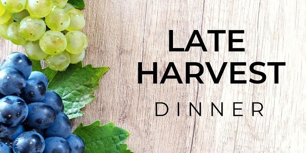 Late Harvest Dinner