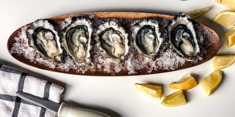 Sip and Slurp with Dabob Bay Oyster Co at Eleven Winery