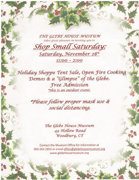 Shop Small - Saturday, November 28th