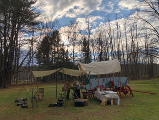Colonial Life Series: Chuckwagon Cooking with the Frontier Mess