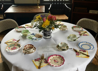 A Winter's Afternoon Tea:                 Sunday, February 10th