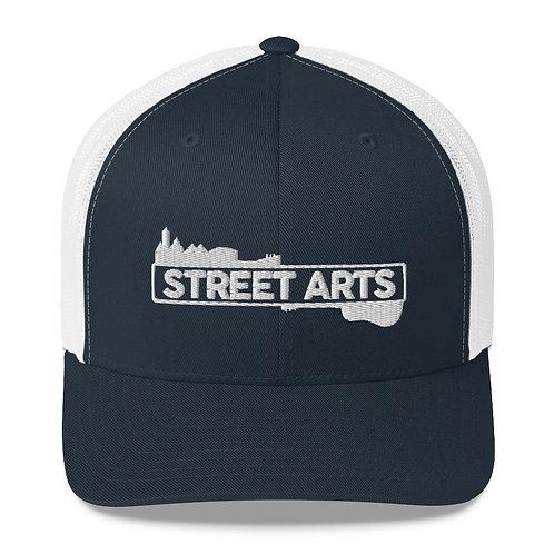 Trucker Cap - White Logo