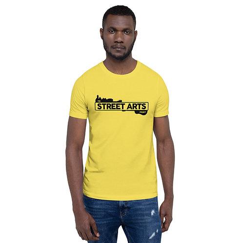 Short-Sleeve Unisex T-Shirt - Black Logo