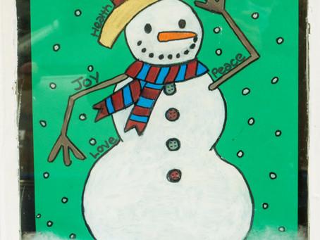 Groovy Christmas Art