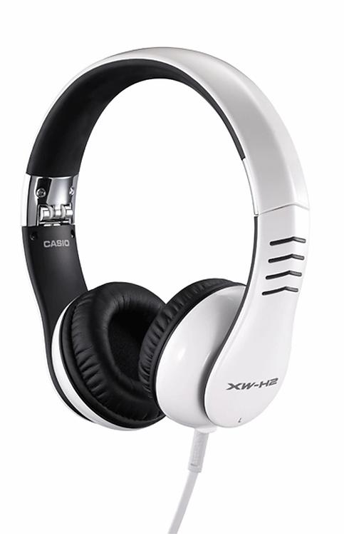 Casio : XW-H2 Hi-Performance Headphones – White