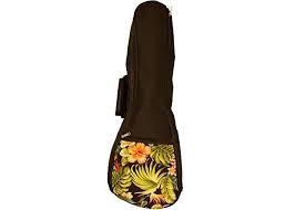 UB-FL-T Floral Pattern Tenor Gig Bag : Kala