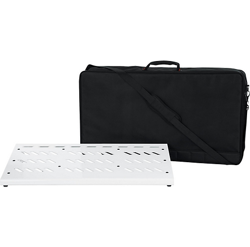 White Aluminum Pedal Board XL : Gator