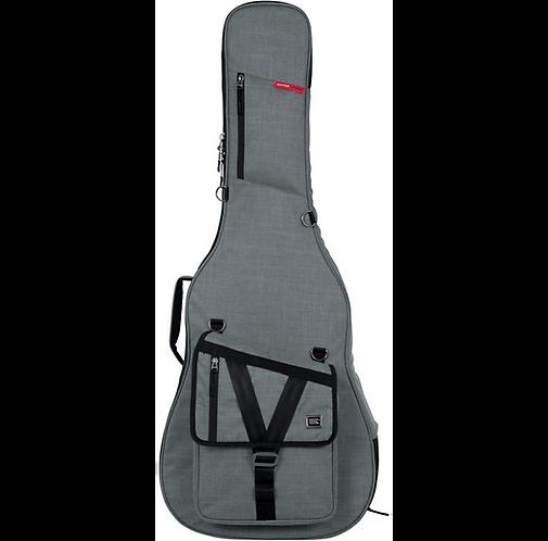 Transit Series Acoustic Guitar Gig Bag - Gray : Gator