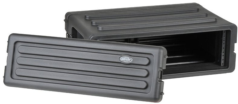 Roto-Molded 3U Shallow Rack - SKB