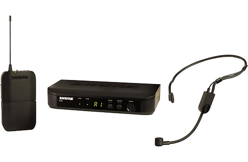 BLX14 Wireless Headset System with PGA31 Headset : Shure