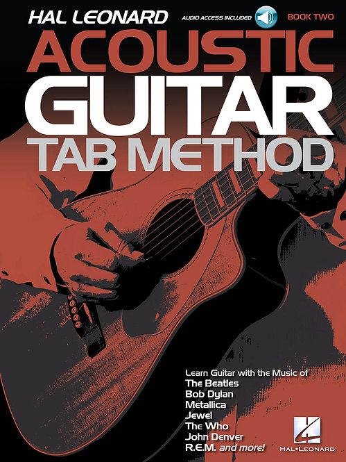 Acoustic Guitar Tab Method - Book 2 : Hal Leonard