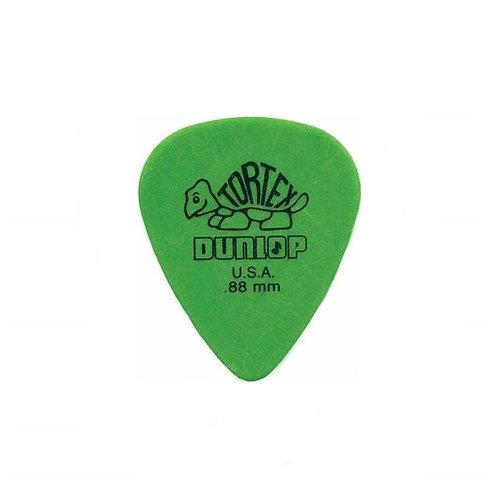 Dunlop : Tortex Pick, .88mm,
