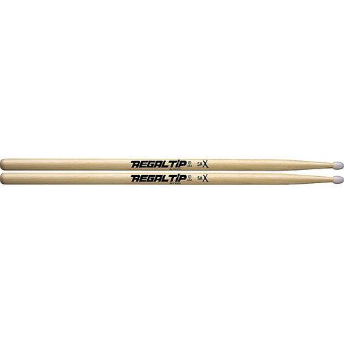 Regal Tip : 5A Hickory Drum Sticks Nylon Tip
