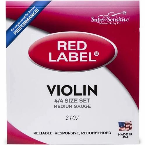 Red Label Violin D String  4/4 - Supersensitive