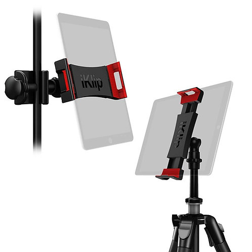 iPad & Tablet Holder for Mic Stand Mount & Tripod Mount : IK Media