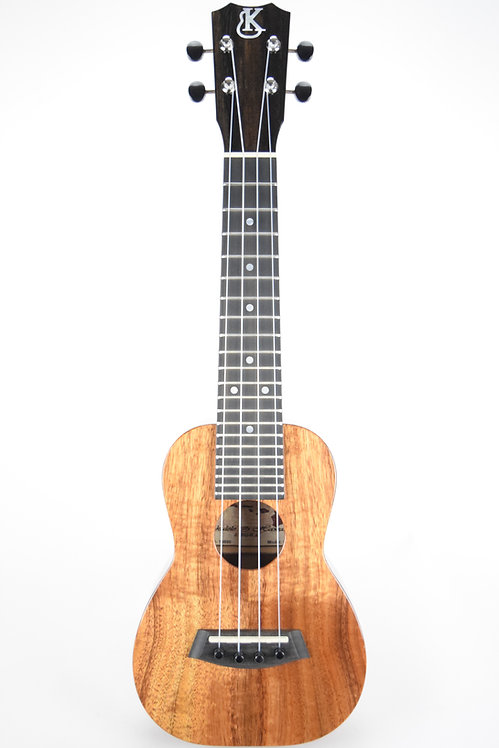 K-1S Hawaiian Koa Soprano Ukulele - Kanile'a
